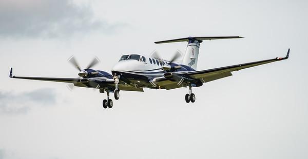 Beechcraft, King Air 350 SM, N350ER, RIAT2016 (12.6Mp)