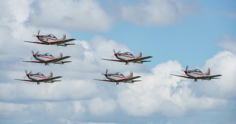 Croatian Air Force, Krila Oluje, PC-9M, Pilatus, RIAT2016, Swift, Wings of Storm (30.4Mp)