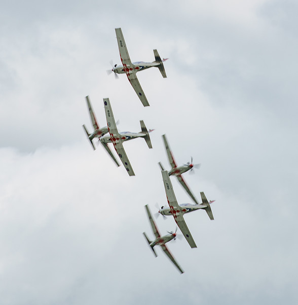 Croatian Air Force, Krila Oluje, PC-9M, Pilatus, RIAT2016, Swift, Wings of Storm (12.4Mp)
