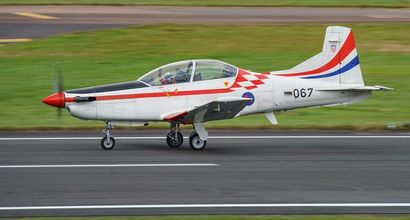 Croatian Air Force, Krila Oluje, PC-9M, Pilatus, RIAT2016, Swift, Wings of Storm (19.7Mp)
