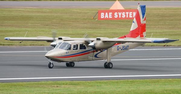 BN-2T, Britten-Norman, G-JSAT, RIAT2016, Turbo Islander (16.0Mp)