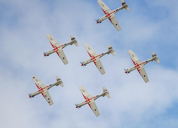 Croatian Air Force, Krila Oluje, PC-9M, Pilatus, RIAT2016, Swift, Wings of Storm (17.1Mp)