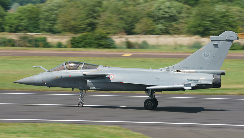 142, 4-GU, Dassault, French Air Force, RIAT2016, Rafale C (29.2Mp)