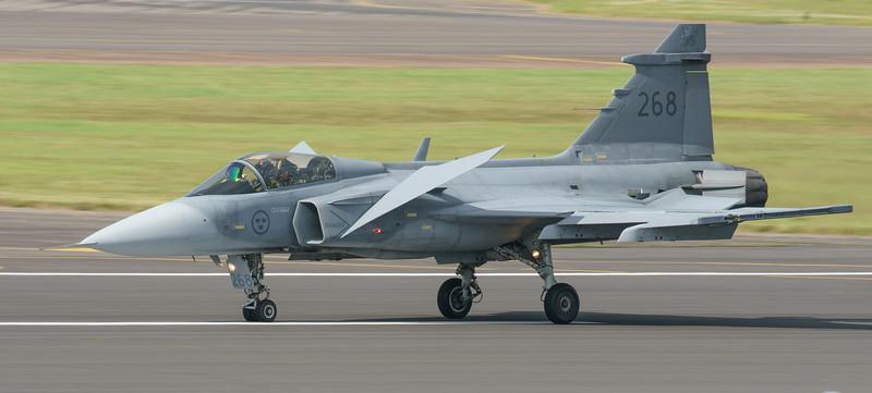 39268, Gripen, JAS 39C, RIAT2016, Saab, Swedish Air Force (15.1Mp)