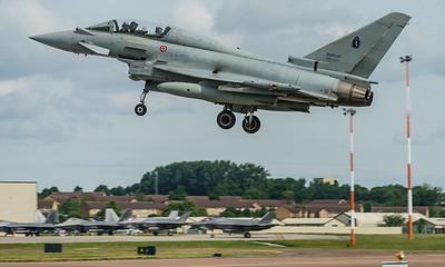 4-23, Eurofighter, F-2000T, Italian Air Force, MM55095, RIAT2016 (25.1Mp)