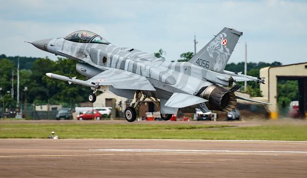 (Block 52), 4056, F-16 Fighting Falcon, F-16C, Lockheed Martin, RIAT2016, Viper (17.6Mp)