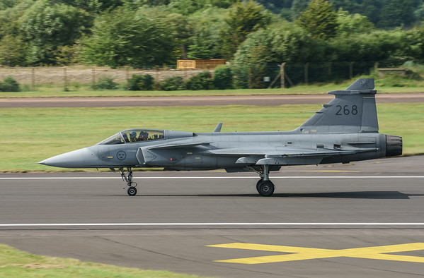 39268, Gripen, JAS 39C, RIAT2016, Saab, Swedish Air Force (32.8Mp)