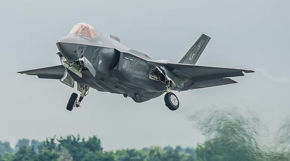 12-5042, F-35, F-35A, Lightning II, Lockheed Martin, RIAT2016, US Air Force (3.7Mp)
