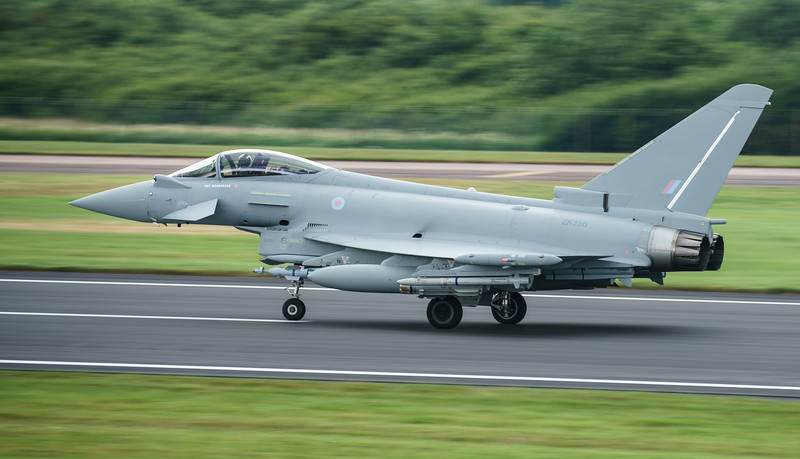 BAe, BAe Systems Tranche 3 Development, Eurofighter, RAF, RIAT2016, Royal Air Force, Typhoon FGR.4, ZK356 (19.9Mp)