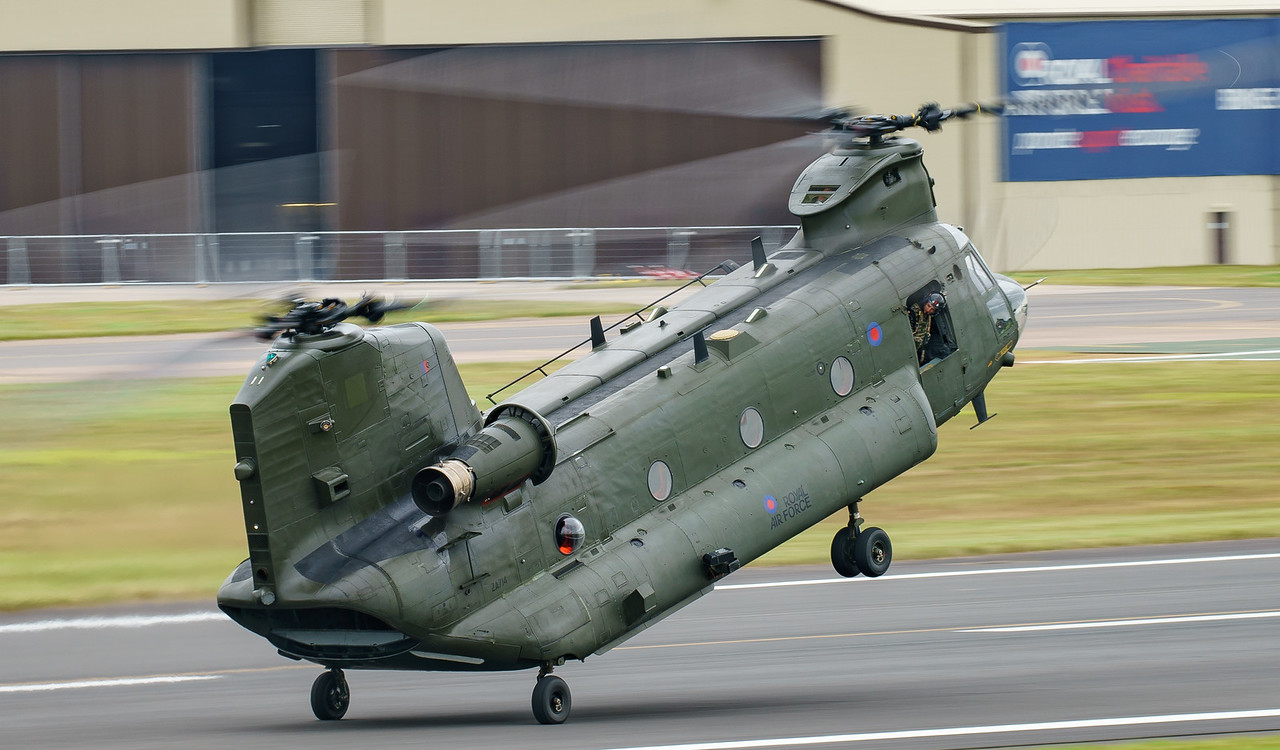 Boeing, Chinook, Chinook HC4, RAF, RIAT2016, Royal Air Force, ZA714 (6.4Mp)