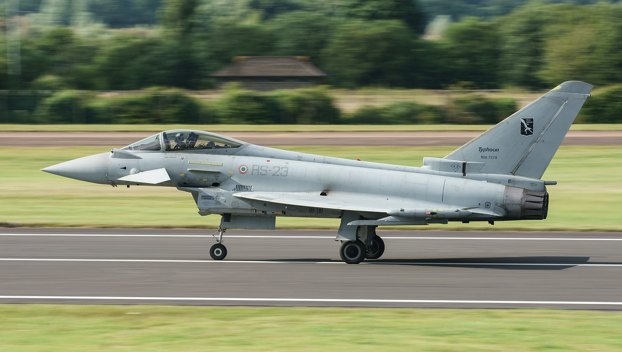 Eurofighter, F-2000A, Italian Air Force, MM7278, RIAT2016, RS-23 (21.2Mp)