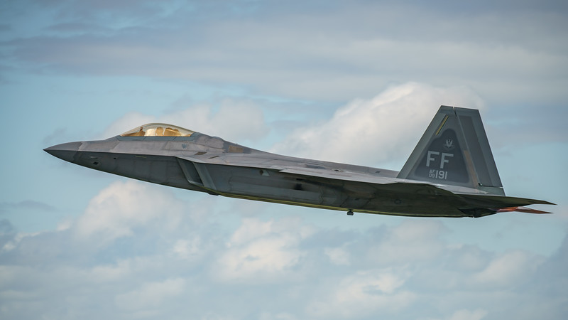 09-4191, F-22A, Lockheed Martin, RIAT2016, Raptor, US Air Force (33.5Mp)