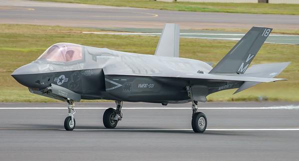 168726, F-35, F-35B, Lightning II, Lockheed Martin, RIAT2016, Refueling demo, US Marine Corps, VM-18 (8.9Mp)