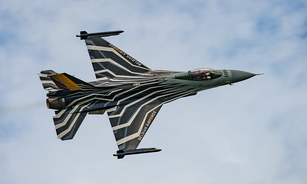 Belgian Air Component, F-16 Fighting Falcon, F-16AM, FA-123, Lockheed Martin, RIAT2016, Viper (11.2Mp)