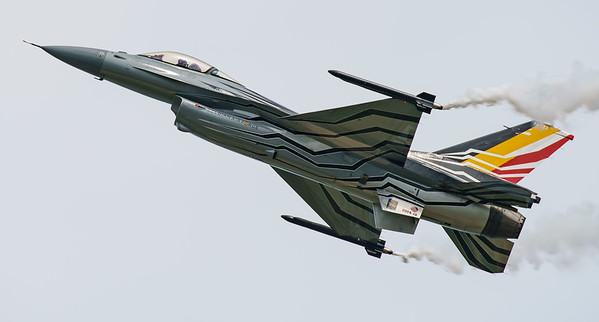 Belgian Air Component, F-16 Fighting Falcon, F-16AM, FA-123, Lockheed Martin, RIAT2016, Viper (8.3Mp)
