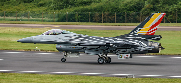 Belgian Air Component, F-16 Fighting Falcon, F-16AM, FA-123, Lockheed Martin, RIAT2016, Viper (20.5Mp)