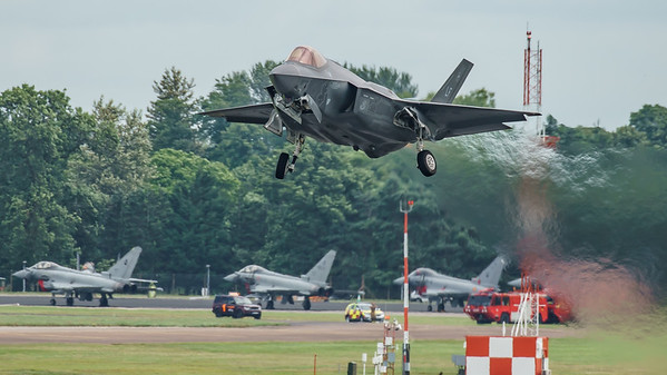 12-5052, F-35, F-35A, Lightning II, Lockheed Martin, RIAT2016, US Air Force (6.0Mp)