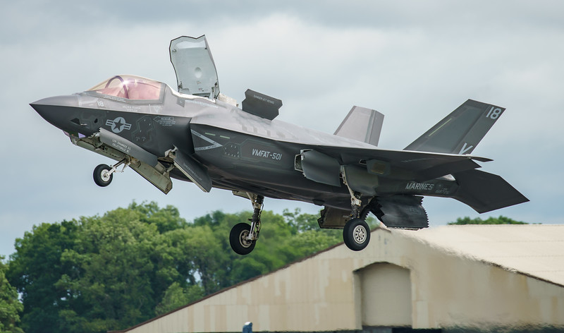 168726, F-35, F-35B, Lightning II, Lockheed Martin, RIAT2016, Refueling demo, US Marine Corps, VM-18 (24.8Mp)