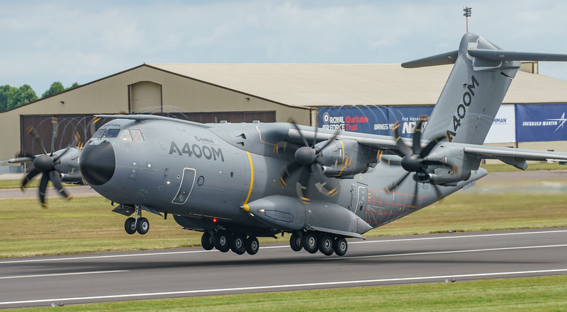 (6th Dev Aircraft), A400M, Airbus, EC-406, RIAT2016 (22.7Mp)