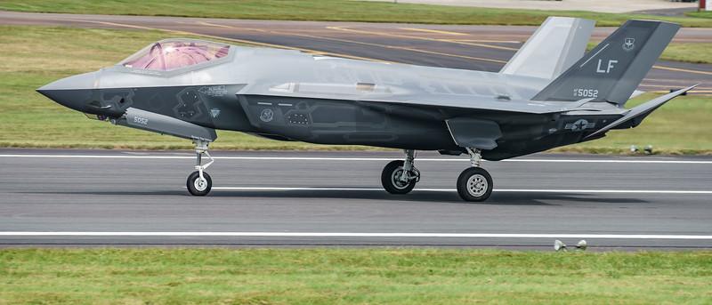 12-5052, F-35, F-35A, Lightning II, Lockheed Martin, RIAT2016, US Air Force (17.8Mp)