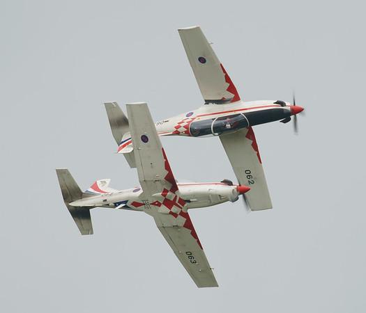Croatian Air Force, Krila Oluje, PC-9M, Pilatus, RIAT2016, Swift, Wings of Storm (5.3Mp)