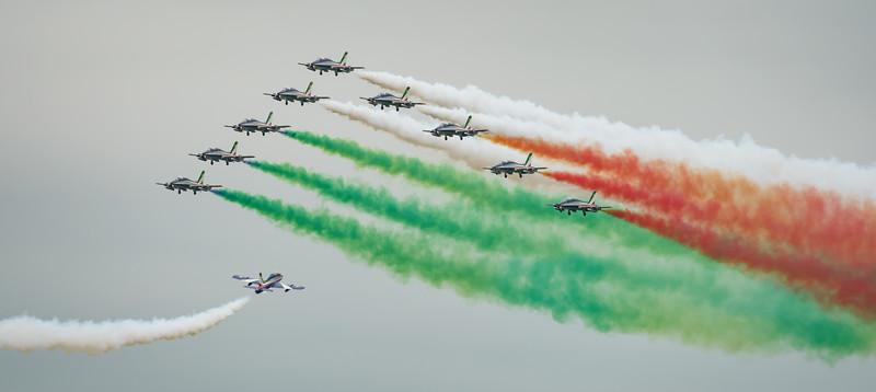 Aermacchi, Frecce Tricolori, Italian Air Force, MB-339, RIAT2016 (21.4Mp)