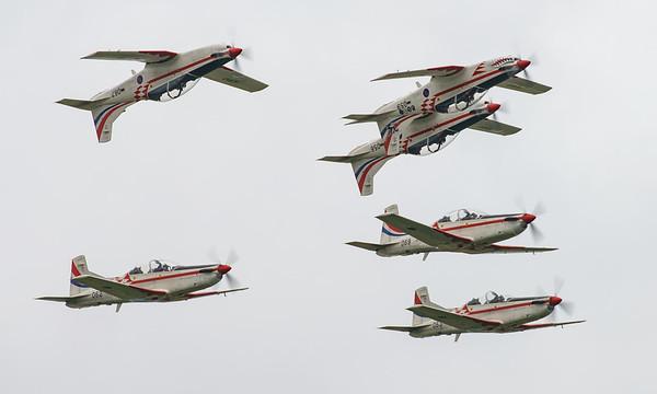 Croatian Air Force, Krila Oluje, PC-9M, Pilatus, RIAT2016, Swift, Wings of Storm (8.5Mp)