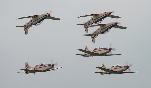 Croatian Air Force, Krila Oluje, PC-9M, Pilatus, RIAT2016, Swift, Wings of Storm (6.5Mp)