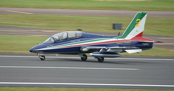 Aermacchi, Frecce Tricolori, Italian Air Force, MB-339, RIAT2016 (19.8Mp)