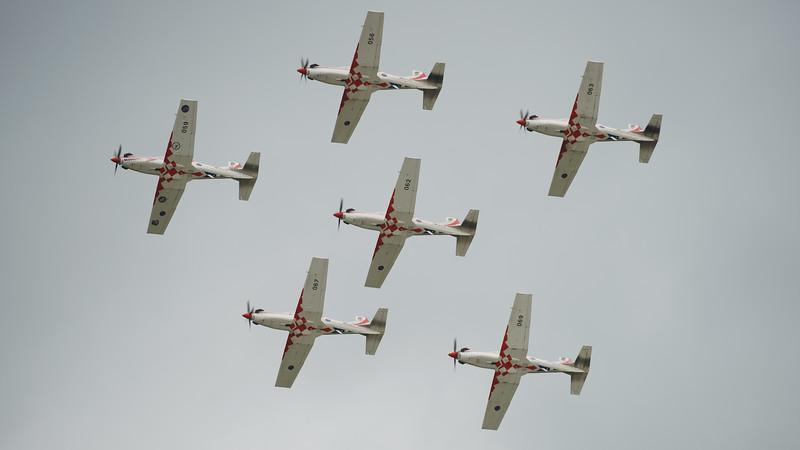 Croatian Air Force, Krila Oluje, PC-9M, Pilatus, RIAT2016, Swift, Wings of Storm (29.5Mp)