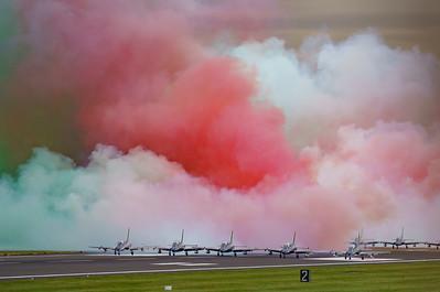 Aermacchi, Frecce Tricolori, Italian Air Force, MB-339, RIAT2016 (21.9Mp)