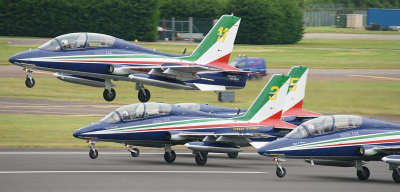 Aermacchi, Frecce Tricolori, Italian Air Force, MB-339, RIAT2016 (29.1Mp)