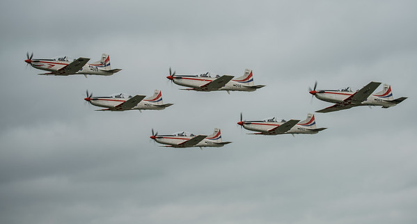 Croatian Air Force, Krila Oluje, PC-9M, Pilatus, RIAT2016, Swift, Wings of Storm (33.9Mp)