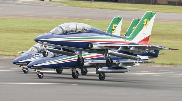 Aermacchi, Frecce Tricolori, Italian Air Force, MB-339, RIAT2016 (12.1Mp)