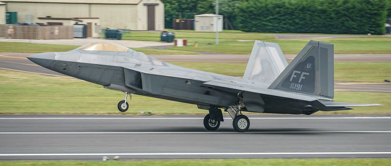 09-4191, F-22A, Lockheed Martin, RIAT2016, Raptor, US Air Force (21.4Mp)