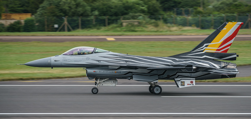 Belgian Air Component, F-16 Fighting Falcon, F-16AM, FA-123, Lockheed Martin, RIAT2016, Viper (23.9Mp)