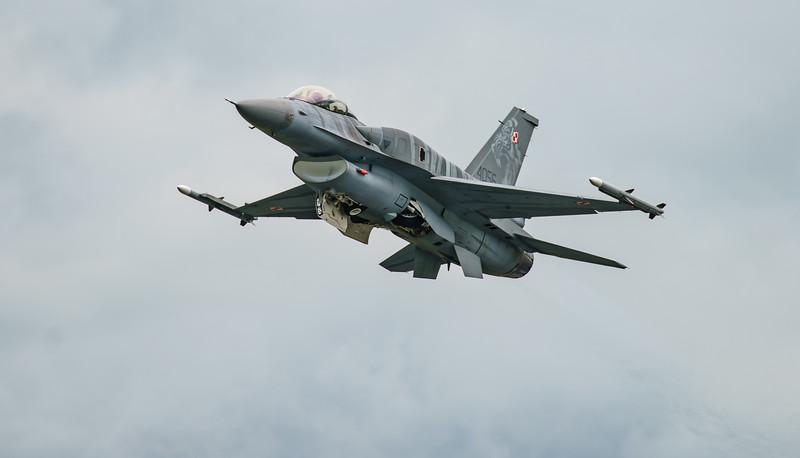 (Block 52), 4056, F-16 Fighting Falcon, F-16C, Lockheed Martin, Polish Air Force, RIAT2016, Viper (11.7Mp)