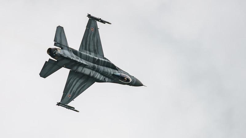 (Block 52), 4056, F-16 Fighting Falcon, F-16C, Lockheed Martin, Polish Air Force, RIAT2016, Viper (8.6Mp)