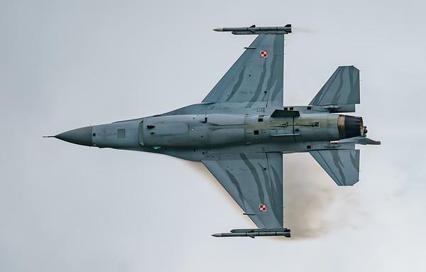(Block 52), 4056, F-16 Fighting Falcon, F-16C, Lockheed Martin, Polish Air Force, RIAT2016, Viper (8.3Mp)