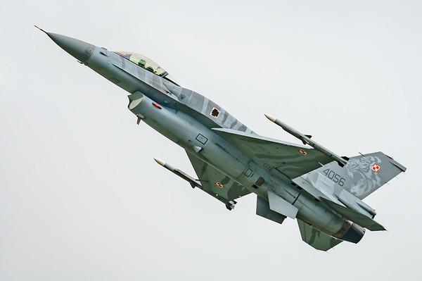 (Block 52), 4056, F-16 Fighting Falcon, F-16C, Lockheed Martin, Polish Air Force, RIAT2016, Viper (7.3Mp)