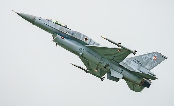 (Block 52), 4056, F-16 Fighting Falcon, F-16C, Lockheed Martin, Polish Air Force, RIAT2016, Viper (8.0Mp)
