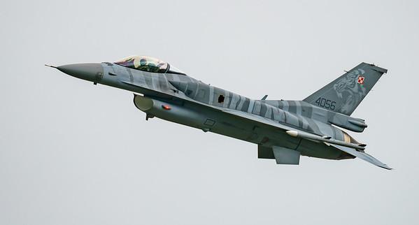 (Block 52), 4056, F-16 Fighting Falcon, F-16C, Lockheed Martin, Polish Air Force, RIAT2016, Viper (7.1Mp)