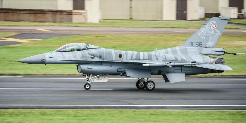 (Block 52), 4056, F-16 Fighting Falcon, F-16C, Lockheed Martin, Polish Air Force, RIAT2016, Viper (25.1Mp)