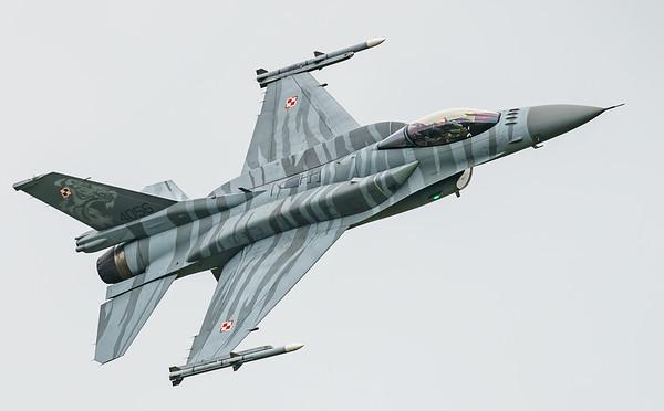 (Block 52), 4056, F-16 Fighting Falcon, F-16C, Lockheed Martin, Polish Air Force, RIAT2016, Viper (5.6Mp)