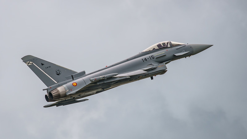 14-15, C16-55, EF2000, Eurofighter, RIAT2016, Spanish Air Force (13.1Mp)