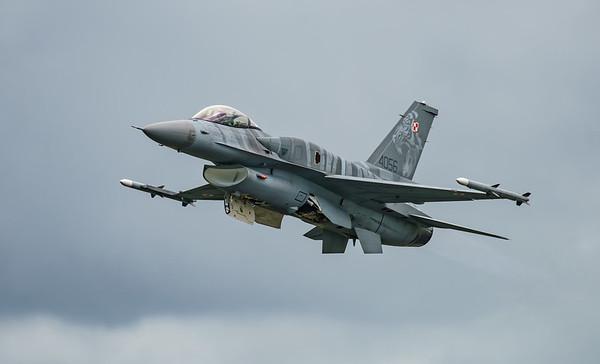 (Block 52), 4056, F-16 Fighting Falcon, F-16C, Lockheed Martin, Polish Air Force, RIAT2016, Viper (12.4Mp)