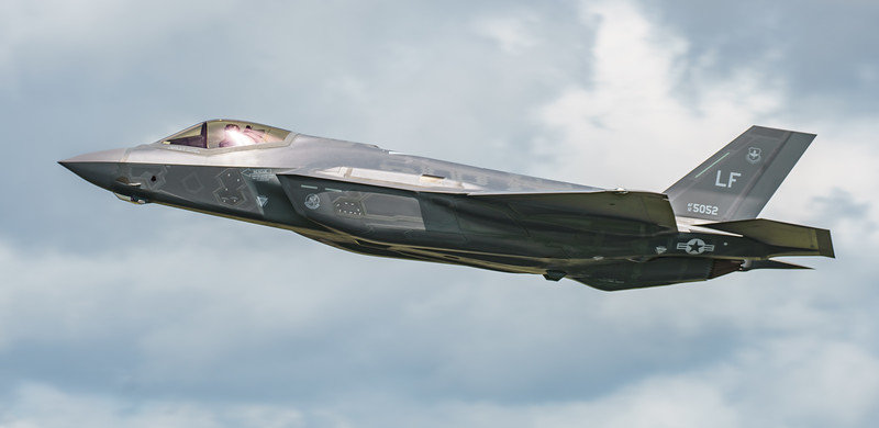 12-5052, F-35, F-35A, Lightning II, Lockheed Martin, RIAT2016 (20.3Mp)