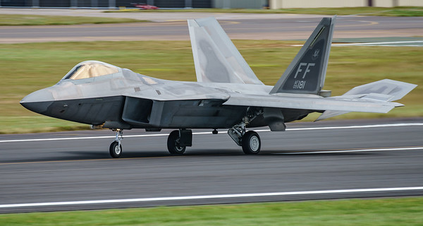 09-4181, F-22A, Lockheed Martin, RIAT2016, Raptor, US Air Force (13.4Mp)