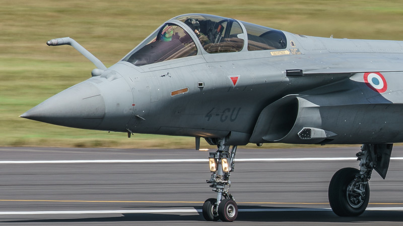 142, 4-GU, Dassault, French Air Force, RIAT2016, Rafale C (3.3Mp)