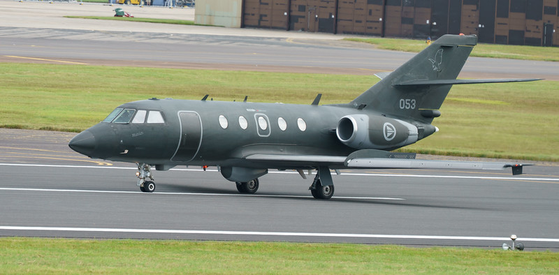 053, 2000EX, Dassault, Falcon, Falcon 20ECM, RIAT2016, Royal Norwegian Air Force (13.0Mp)